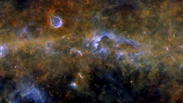 Tak wygląda Droga Mleczna. Przepiękna panorama naszej galaktyki