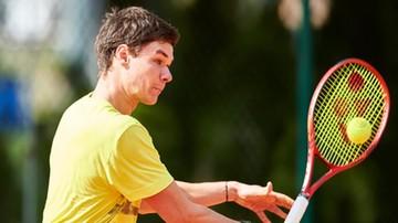 ATP w Lyonie: Majchrzak przeszedł eliminacje
