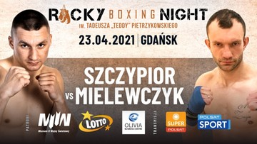 Rocky Boxing Night 8: Niepokonany Szczypior kontra wracający do boksu Mielewczyk