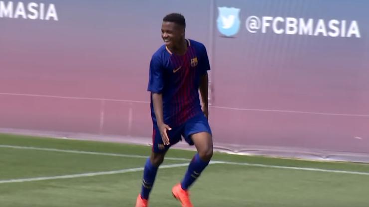 16-letni debiutant z Barcelony potrzebował zgody rodziców na mecz z Realem Betis