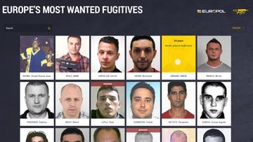 """""""Europe's Most Wanted Fugitives"""" - ruszyła nowa strona internetowa z najbardziej poszukiwanymi przestępcami w Europie"""