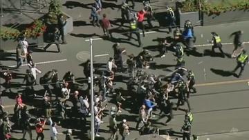 Starcia z policją w Australii. 218 aresztowanych. Nie chcą już dłużej lockdownu