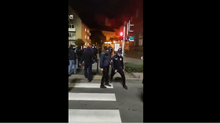 Protesty we Wrocławiu. Ataki na manifestantów
