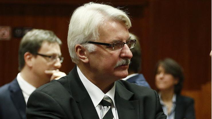 Waszczykowski w niemieckiej prasie: TK próbuje utrzymać błąd popełniony przez poprzedni parlament