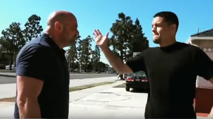 """UFC 241: """"Stockton Slap"""", czyli firmowe uderzenie Diaza (WIDEO)"""