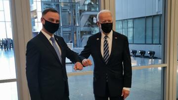 Prezydent Duda spotkał się z Joe Bidenem. Znamy tematy rozmów