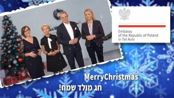 """""""Żadnego twerkowania, tylko kilku pasterzy"""". Nietypowe życzenia ambasady RP w Tel Awiwie"""
