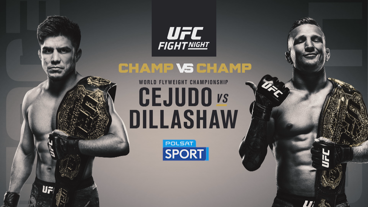 UFC: Cejudo - Dillashaw. Transmisja w Polsacie Sport