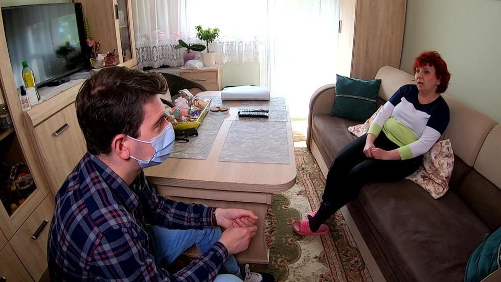 Interwencja - Melina w mieszkaniu. Z korytarza korzysta jak z toalety