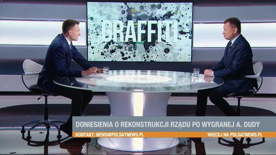 Graffiti - Mariusz Błaszczak