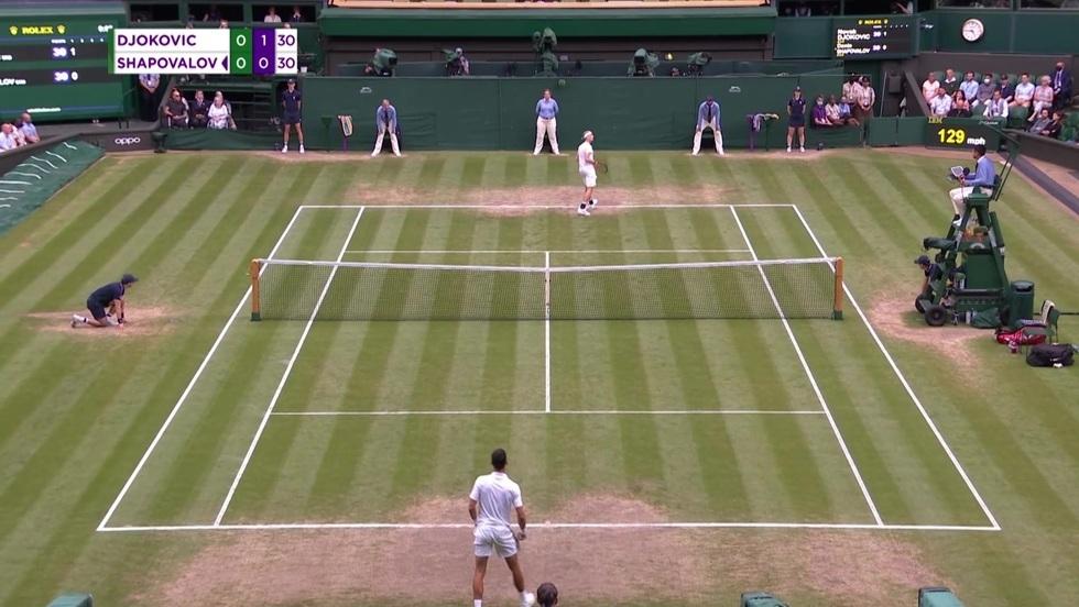 Novak Djokovic - Denis Shapovalov