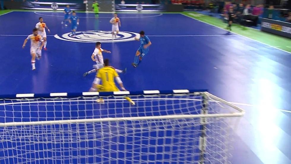 Kazachstan - Hiszpania, skrót meczu