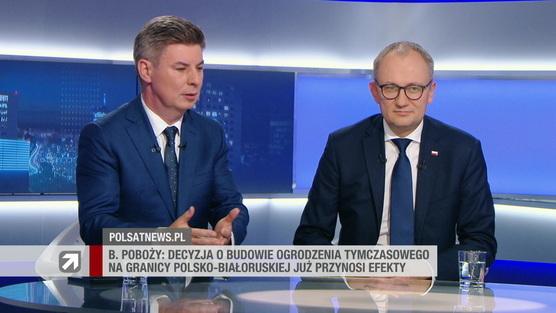 Gość Wydarzeń - Jan Grabiec i Błażej Poboży