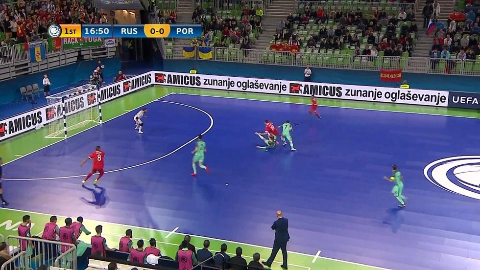 Rosja - Portugalia, skrót meczu